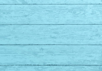 Blue wooden texture, old painted wood planks