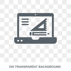 Edit tool icon. Trendy flat vector Edit tool icon on transparent background from web hosting collection. High quality filled Edit tool symbol use for web and mobile