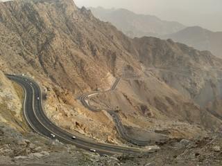 Al Hada Road of Mekkah-Taif, Saudi Arabia