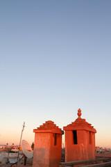 Rote Türme über Essaouira