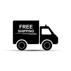 free shipping, simple drawing for websites and apps