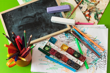 table for children's creativity