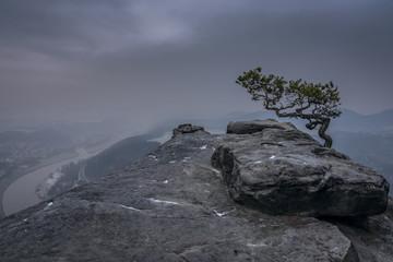 Great view on bad weather - Tolle Aussicht bei schlechtem Wetter