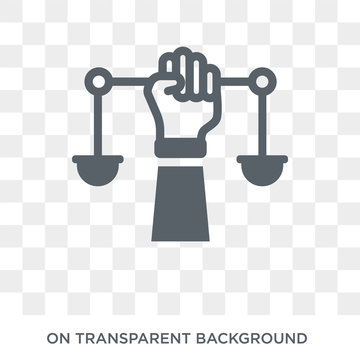 civil rights icon. Trendy flat vector civil rights icon on transparent background from law and justice collection. High quality filled civil rights symbol use for web and mobile