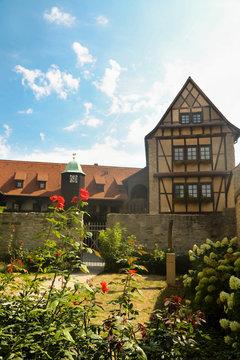 Old monastery in Erfurt, Germany