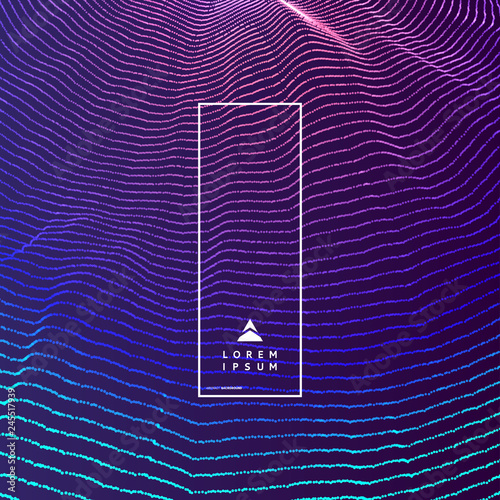 Abstract Science Or Technology Background Graphic Design