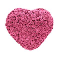 Rosenherz, Valentinstag, Geschenk, romantisch