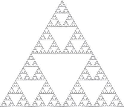 Sierpinski triangle - Fractal