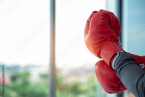 Close up of hands professional confident businessman