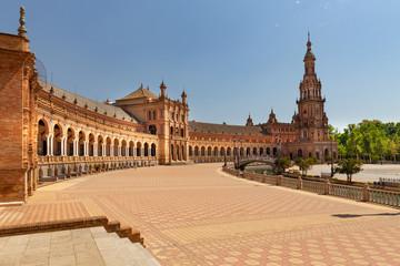 Plaza de Espana in Seville, Andalusia,Spain
