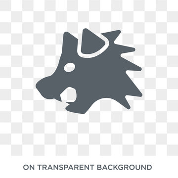 Wolverine icon. Trendy flat vector Wolverine icon on transparent background from animals  collection. High quality filled Wolverine symbol use for web and mobile