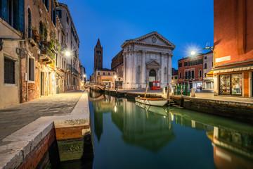 Fotomurales - Romantische Gassen in Venedig, Italien