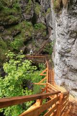 Wildly romantic Wörschachklamm, Styria - Austria