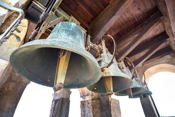 Glocken im Turm der Euphrasius-Basilika