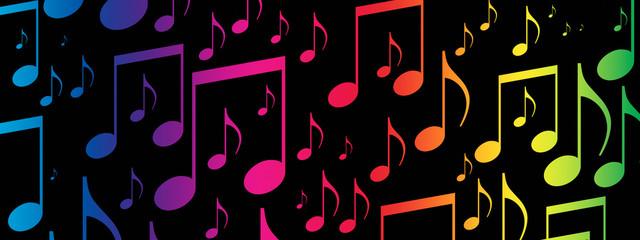 Music Background Banner