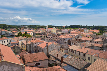 Altstadt von Porec auf Istrien / Kroatien