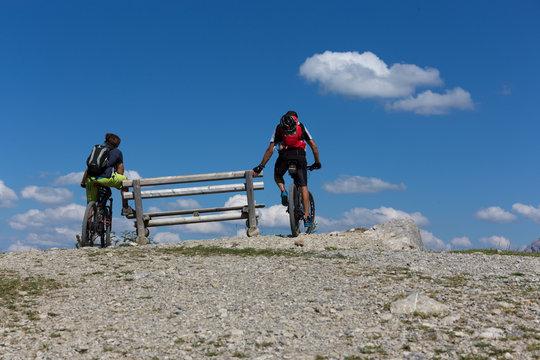 Mountainbiken am Fellhorn und Kanzelwand