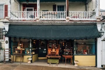 An antique shop in Lynchburg, Virginia