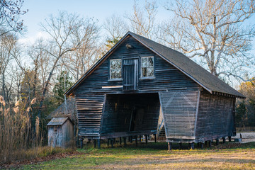 Barn at Batsto Village, in Wharton State Forest, New Jersey