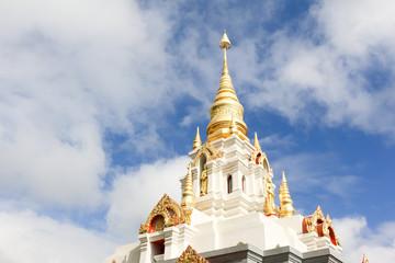 Wat Santikhiri Temple in Mae Salong, Chiang Rai, Thailand