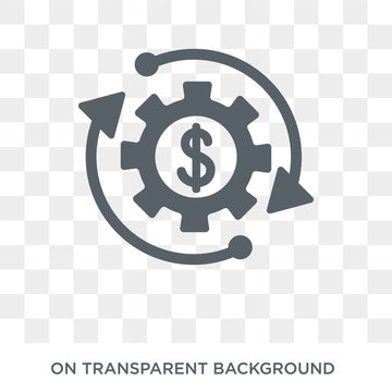 Ethical investment icon. Ethical investment design concept from Ethical investment collection. Simple element vector illustration on transparent background.