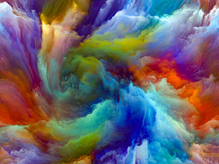 Unfolding of Color Motion