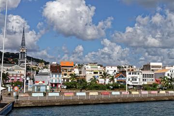 29 NOV 2018 -  Fort-de-France, Martinique FWI - Waterfront
