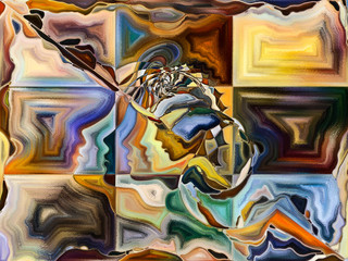 Unfolding of Living Canvas