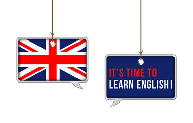 It is time to learn English now