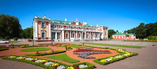Fotobehang Historisch geb. Château de Kadriorg - Tallinn / Estonie