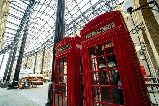 England, London, Telephone Booth