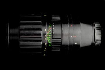 Old Soviet Telephoto Camera Lens