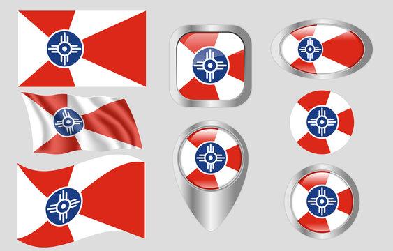 Flag of Wichita, Kansas