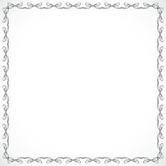 Frame for design drawn in vector illustration eps 10