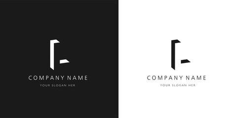 L logo letter design