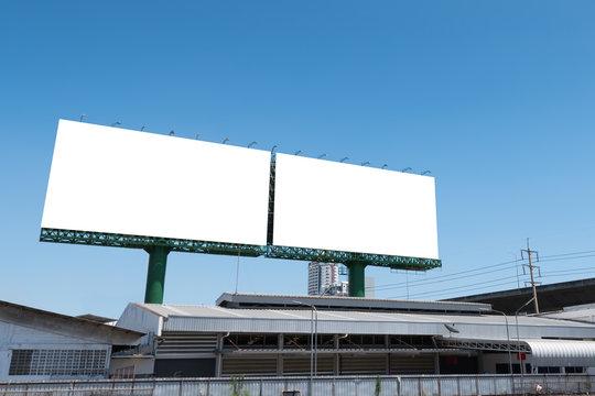 Two big billboard