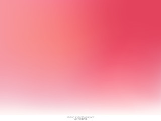 Vector abstract blurred gradient pink and red curve background. in concept of love, sweet, valentines day.