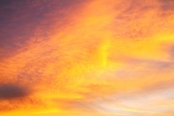 Tuinposter Ochtendgloren Colorfui morning sky