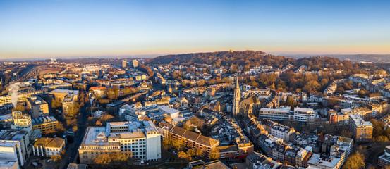 Panorama auf den Lousberg in Aachen Fototapete