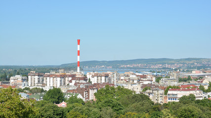 Industrial Zone From Belgrade, Serbia