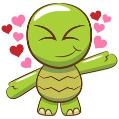 Turtle clipart design