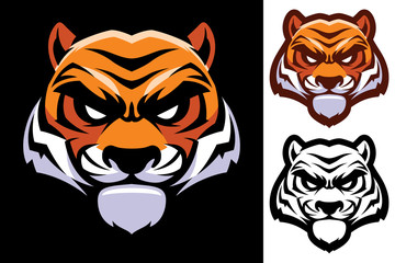 Tiger Head Mascot - fototapety na wymiar