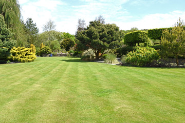 A perfect English country garden