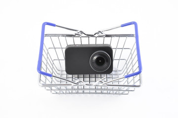 Camera in Shopping Cart series