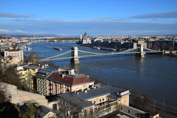 Budapest - Danube and Liberty Bridge