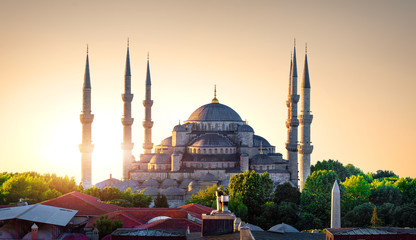Blue Mosque and Bosphorus