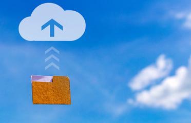 Conceptual transformation hard copy to digital storage.