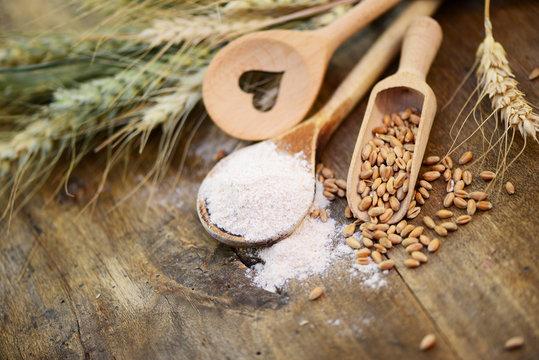 Mehl,Körner,Getreide