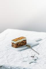 Healthy Vegan Homemade Carrot Cake.