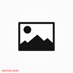 Image icon logo, illustration, vector sign symbol for design